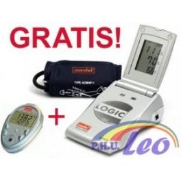 Profesjonalny ciśnieniomierz MEDEL Logic + krokomierz gratis!