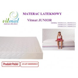 180x80x11 Materac lateksowy Vitmat Junior