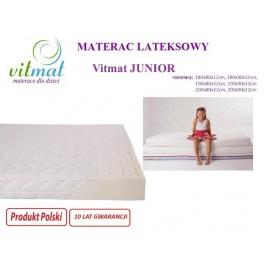 190x80x11 Materac lateksowy Vitmat Junior