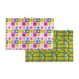 Materac dywan na podłogę dwustronny Kostka /Droga 180x150x2 cm