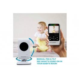 """BABYSENSE V24R - elektroniczna niania z monitorem 2,4"""" i kamerką z nocnym światełkiem"""